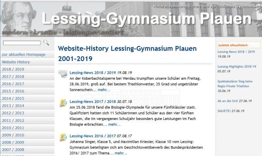 News-Archiv der alten Homepage