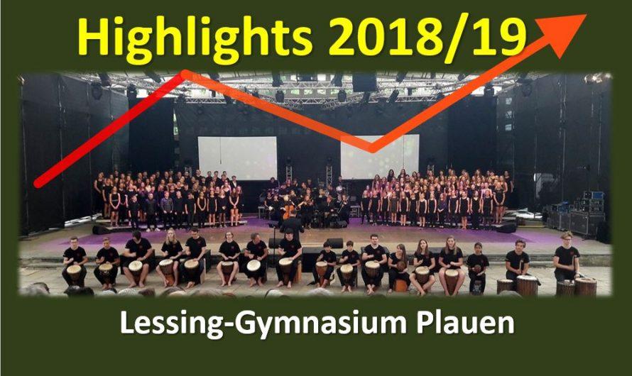 Schuljahres-Highlights 2018/2019