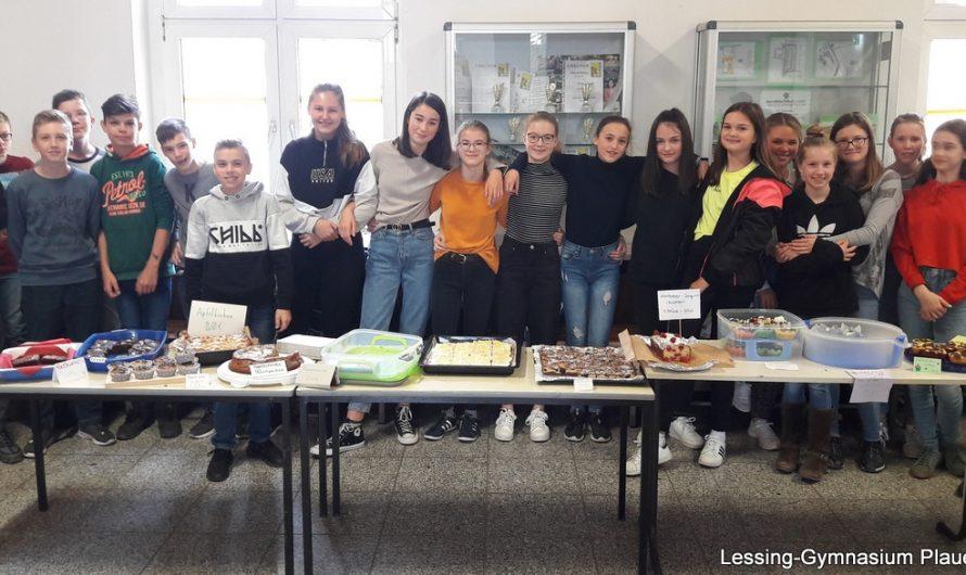 Tolle Kuchenbasare bereichern unser Schulleben