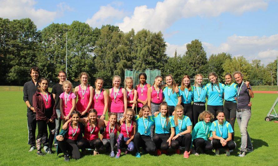 Lessing-Mädels auf Platz 1 und 2 im Kreisfinale Leichtathletik