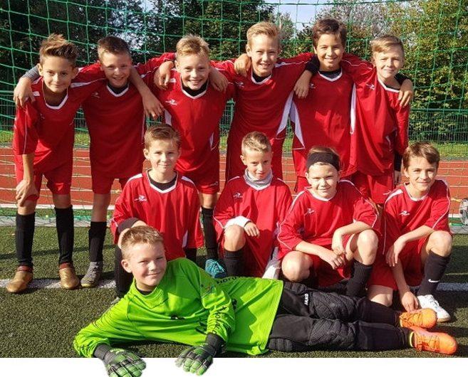 Fußball – 2. Platz im Bereichsfinale