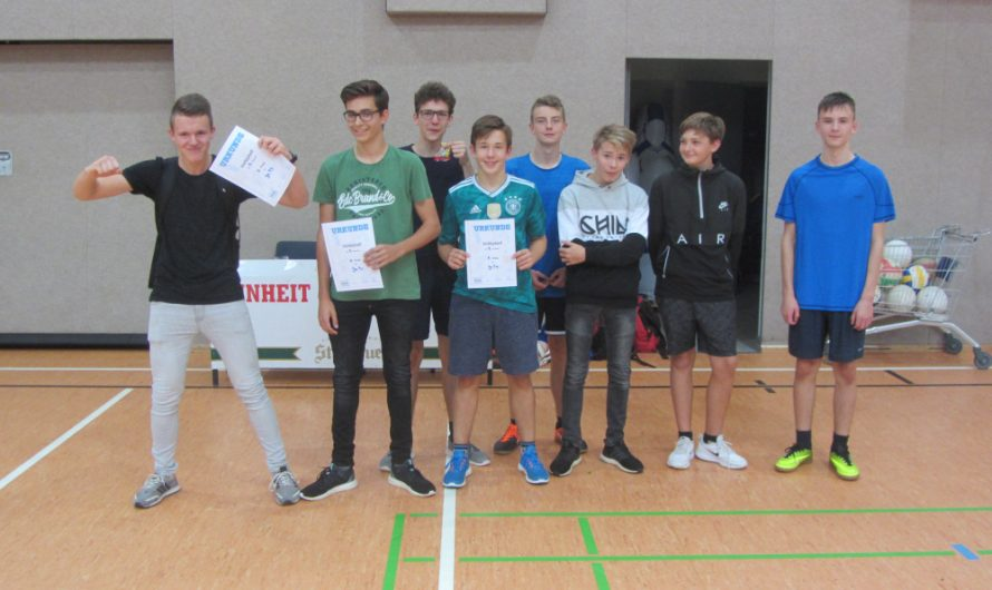 Volleyball am Lessing- Gymnasium