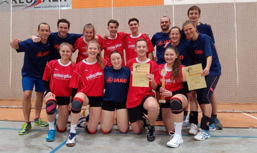 Gold und Silber für Lessing-Volleyballer