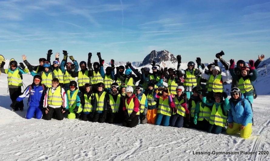 Zwei Skilager bereicherten den fächerverbindenden Unterricht in Kl. 7