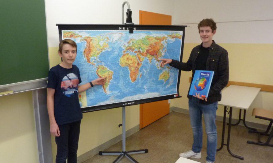 Beide Sieger in der Geographie-Olympiade heißen Marek