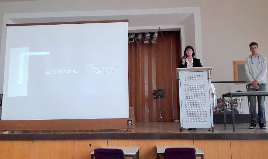 """Generalversammlung unserer Schülergenossenschaft """"Lessings Notenretter eSG"""""""