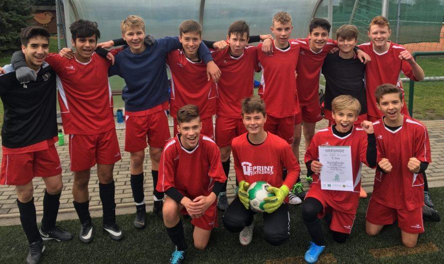 Fußballer der WK 2 qualifizieren sich für das Regionalfinale in Zwickau