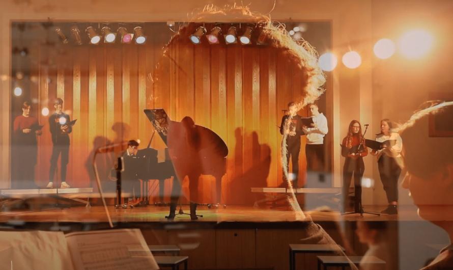Weihnachtliche Grüße vom Chor des Lessing-Gymnasiums + Spendenaufruf