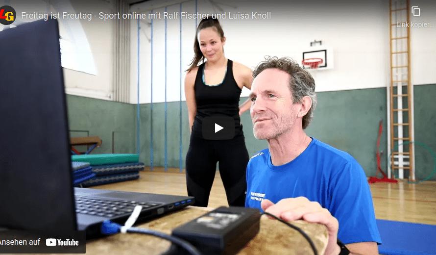 Sport online – Video von der Freitagsaktion