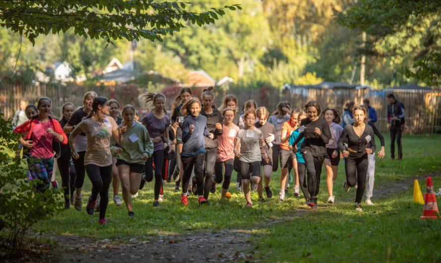 Crosslauf 2021 bei sonnigem Herbstwetter im Preißelpöhl
